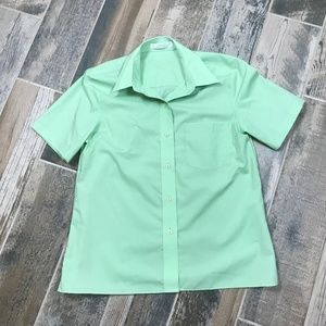 foxcroft Women Short Sleeve Shirt Wrinkle Free